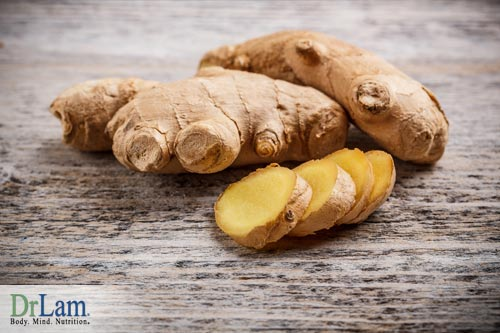 Using ginger as natural immune boosters