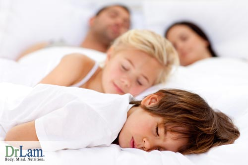 DHA supplements for kids and enough sleep