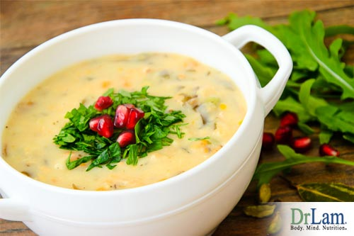 A great meal choice for adrenal fatigue is our vegetable chowder