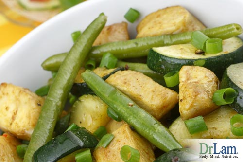Green Beans, Zucchini and Toasted Garlic