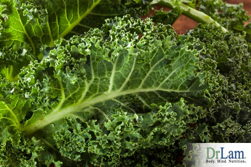 Anti-Aging Help: Green leafy vegetables