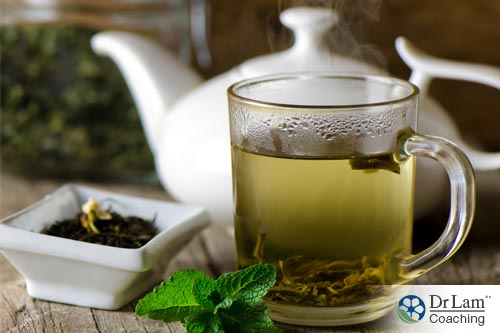 Green tea is one of natural remedies for adrenal hyperplasia