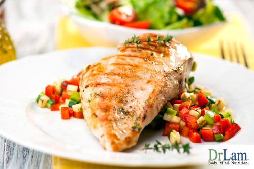 A well-balanced meal should include good saturated fats