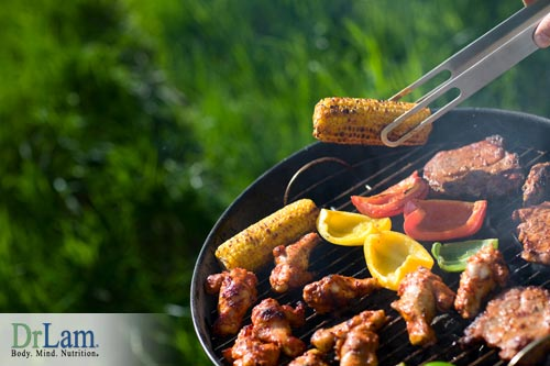 Advanced glycation end products caused from grilling