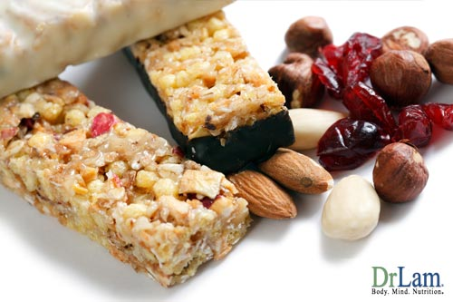 You can help supplement a meal with the healthiest snack bars on any anti-aging diet