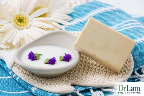 Goat's milk soap benefits come in different forms.