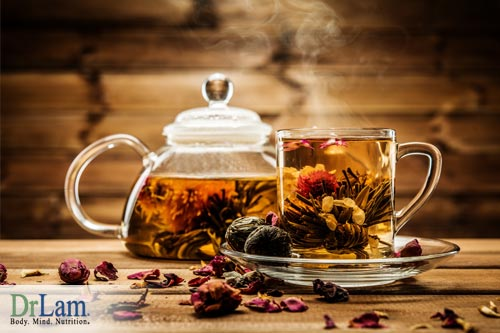 Herbal Teas are mild and gentle and can greatly assist body cleansing and detoxification