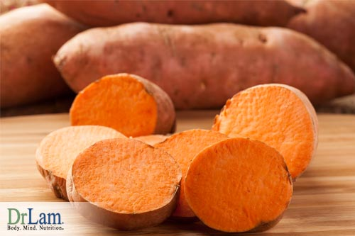 Don't overlook Baked Sweet Potatoes, they are surprisingly rich in vitamin C!
