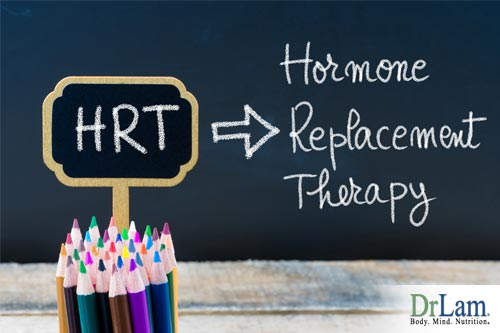 Menopause and fatigue and other symptoms can often be aided with hormone replacement therapy, or HRT
