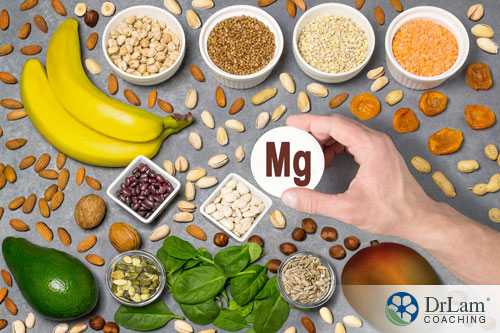 An image of magnesium rich foods