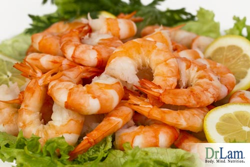 Shrimp, an easy food to improve testosterone naturally