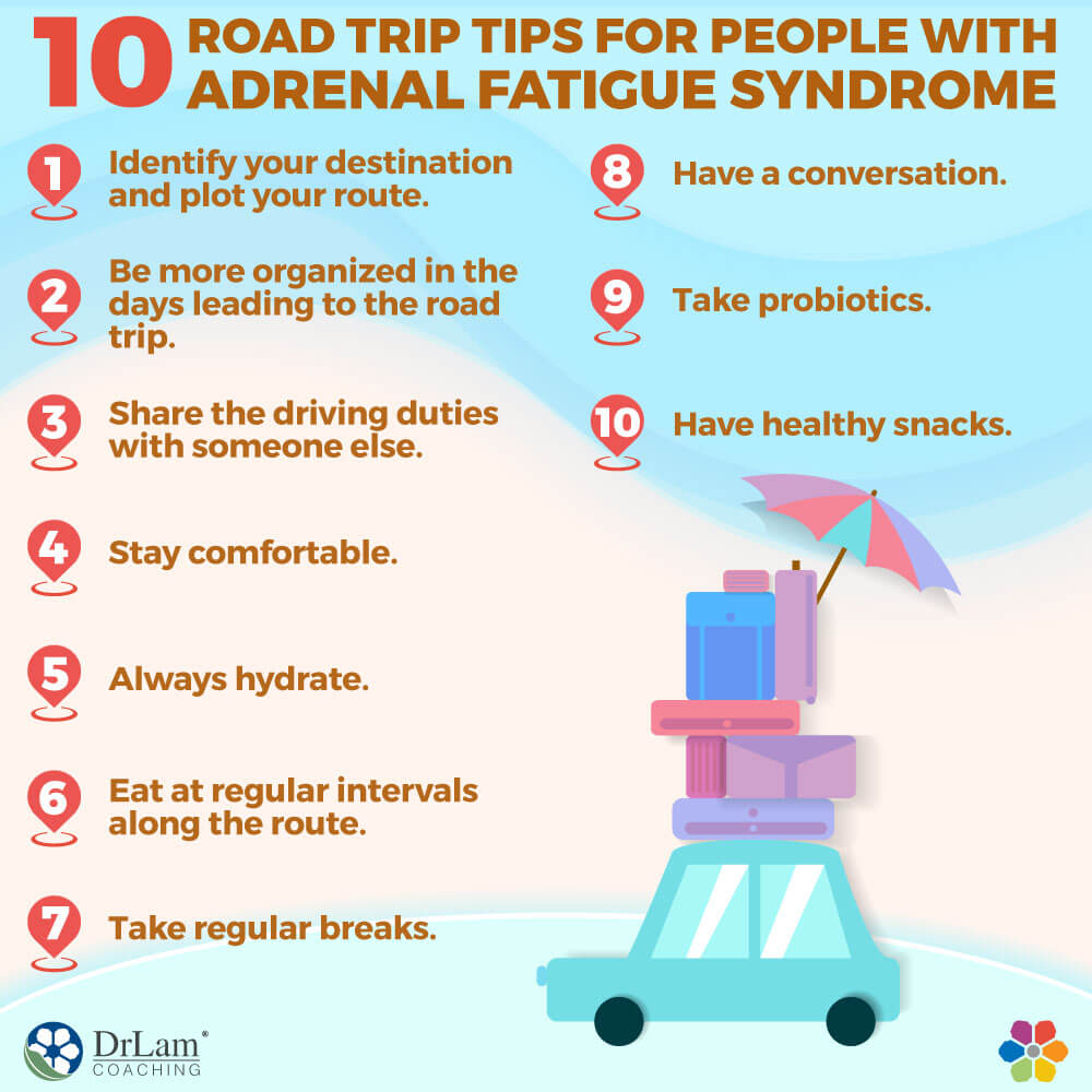 10 Road Trip Tips for People with Adrenal Fatigue Syndrome