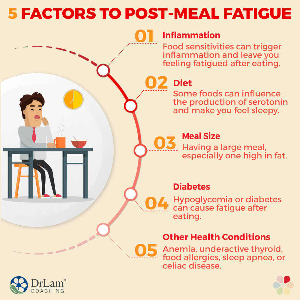 5 Factors to Post-meal Fatigue