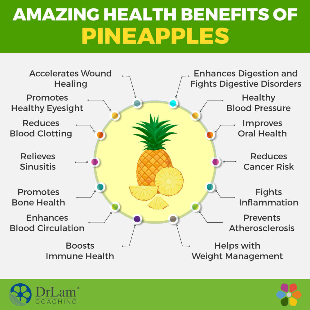 Supercharge Your Health With The Ultimate Health Benefits Of Pineapples