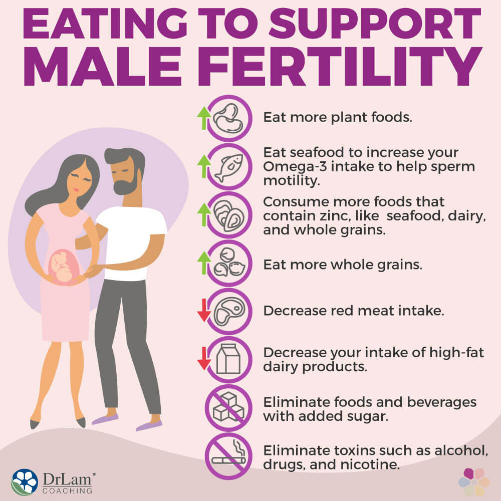 Eating to Support Male Fertility