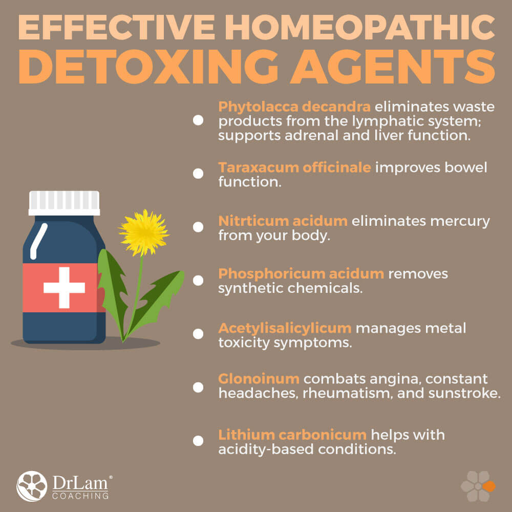 Effective Homeopathic Detoxing Agents