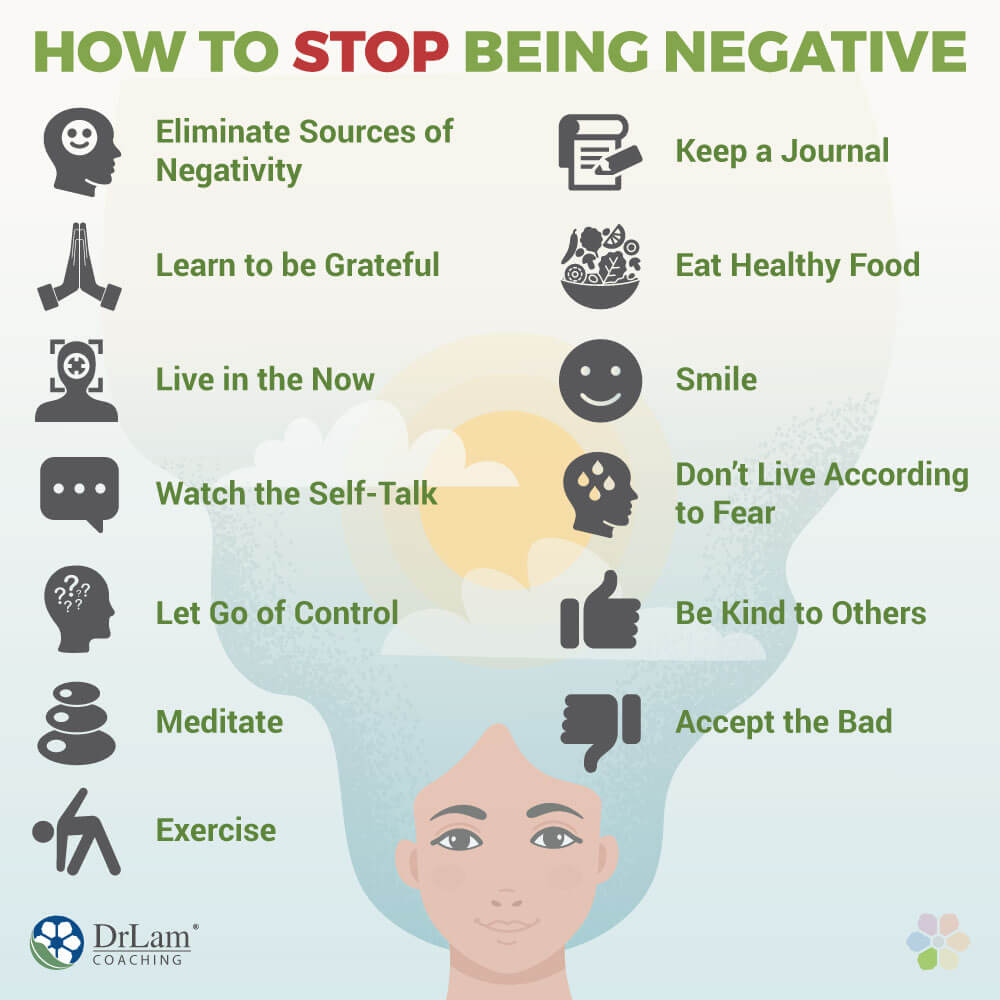 How to Stop Being Negative