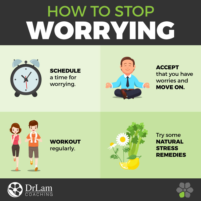 Check out this easy to understand infographic on how to stop worrying too much