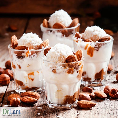 An all natural Almond ice cream recipe you can enjoy