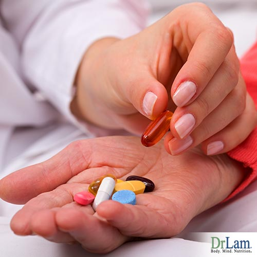 Anti-aging with antioxidant supplements