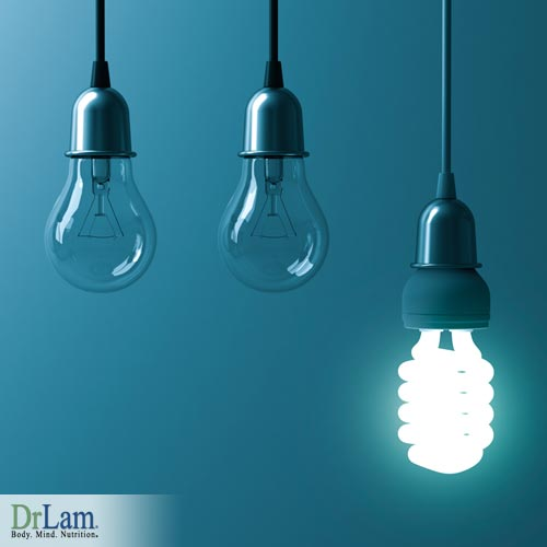energy saving light bulbs and your health