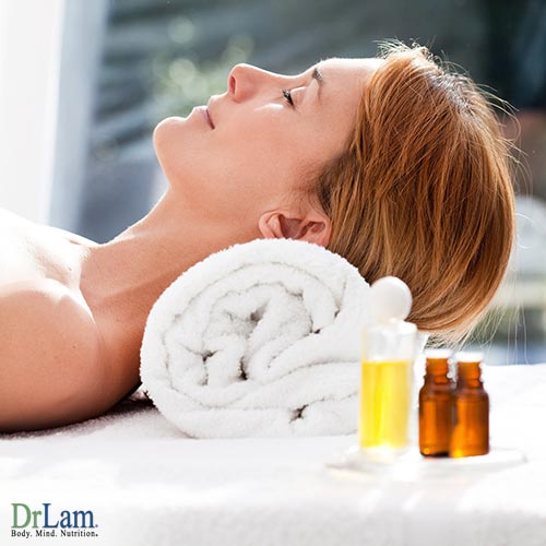 Daily essential oils for relaxing and sleep