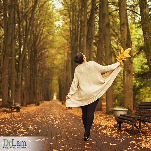 Reducing stress with nature therapy