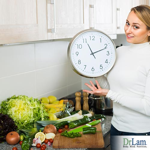 Diet management on a busy schedule