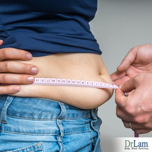 Stress related abdominal fat can occur on anyone