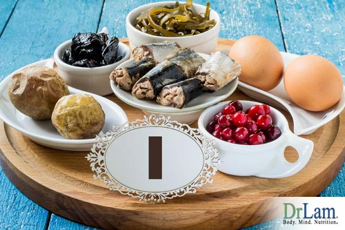 Iodine as part of the metabolism boosting foods list