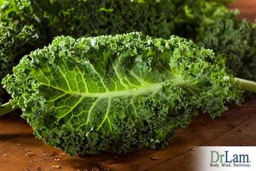 Kale and strontium for osteoporosis