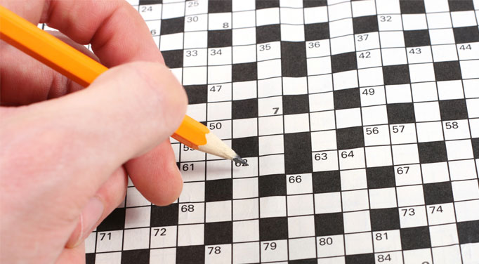 Even simple tasks can engage your mind and combat adrenal failure symptoms, including word puzzles