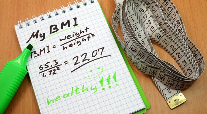 Adult BMI calculator