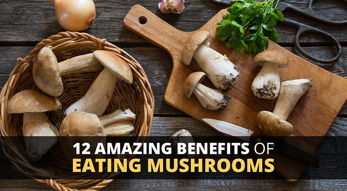 Benefits of eating mushrooms