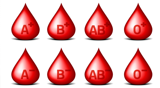 Your blood type determines which blood type diet you should follow