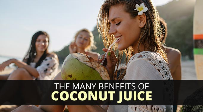 Coconut juice benefits