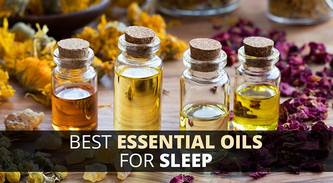 Essential oils for relaxing and sleep