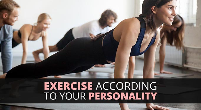 Exercise and personality