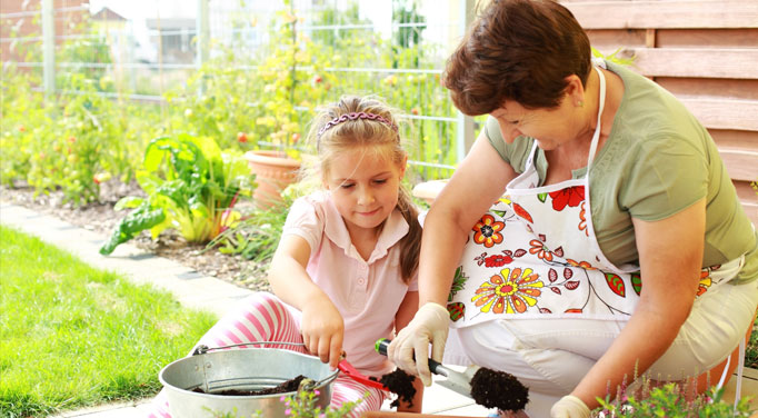 There are other options to explore for treating adrenal fatigue like gardening for therapy