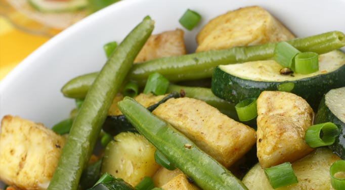 The green beans are a great component of this recipe