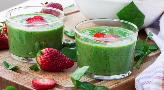 Strawberry Green Smoothie