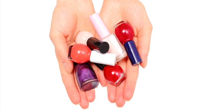 Fingernail polish can set off multiple chemical sensitivities