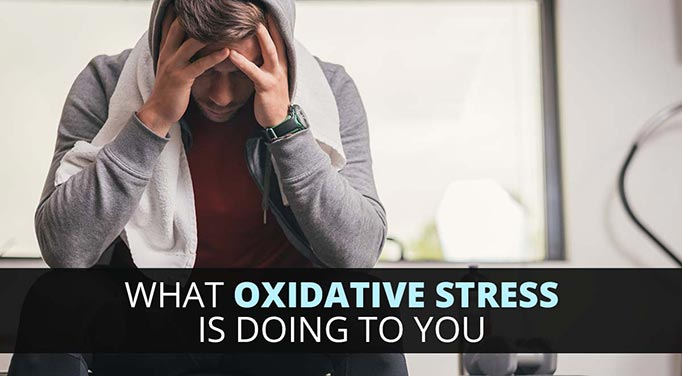 Oxidative stress causes