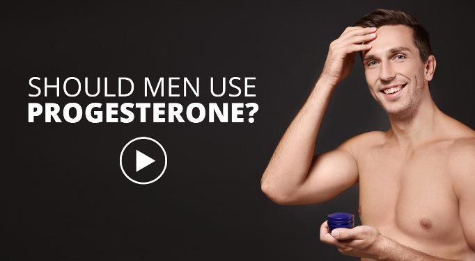 Progesterone in men