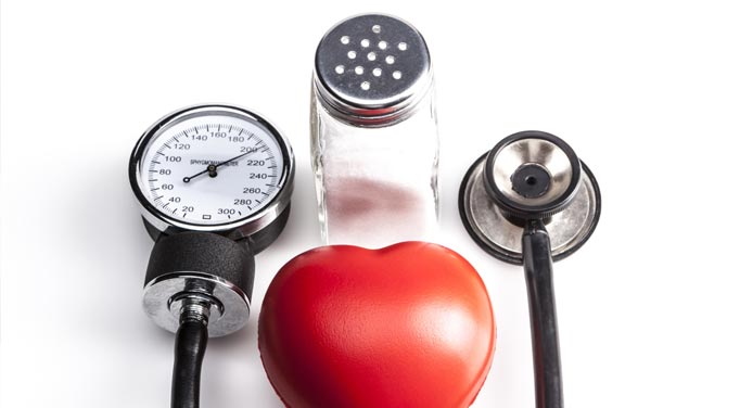 Check with your doctor if salt and high blood pressure is an issue for you