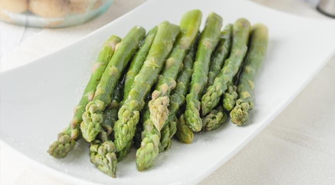 Sauteed asparagus is an excellent source of vitamin K