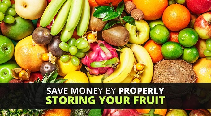 Storing fresh fruit