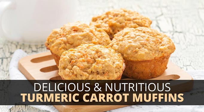 Turmeric Carrot Muffins