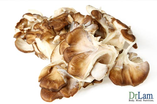 Maitake mushrooms and olive leaf and cancer fighting foods