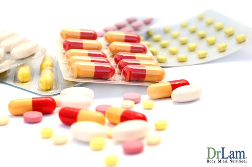 Taking certain medications can increase the build up of metabolite byproducts